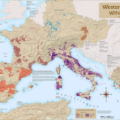 European Wine Regions Map