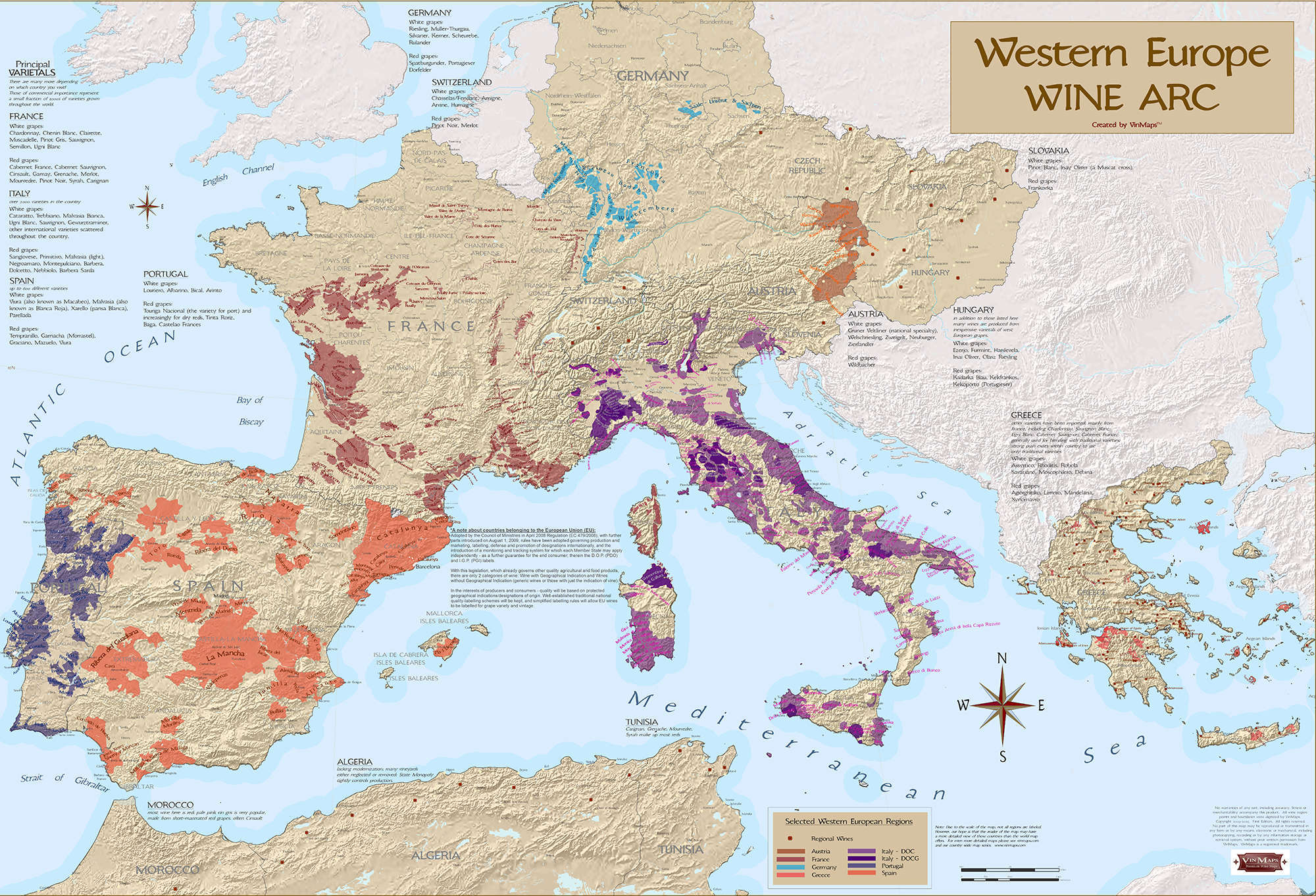 Western Europe Wine Arc on detailed map of europe, google earth map of europe, crete on a map of europe, latest map of europe, the physical map of europe, full screen map of europe, downloadable map of europe, complete map of europe, clear map of europe, line map of europe, war map of europe, need map of europe, study map of europe, printable blank map of europe, ancient old map of europe, high resolution map of europe, london on map of europe, old world map of europe, vintage map of europe, political map of western europe,