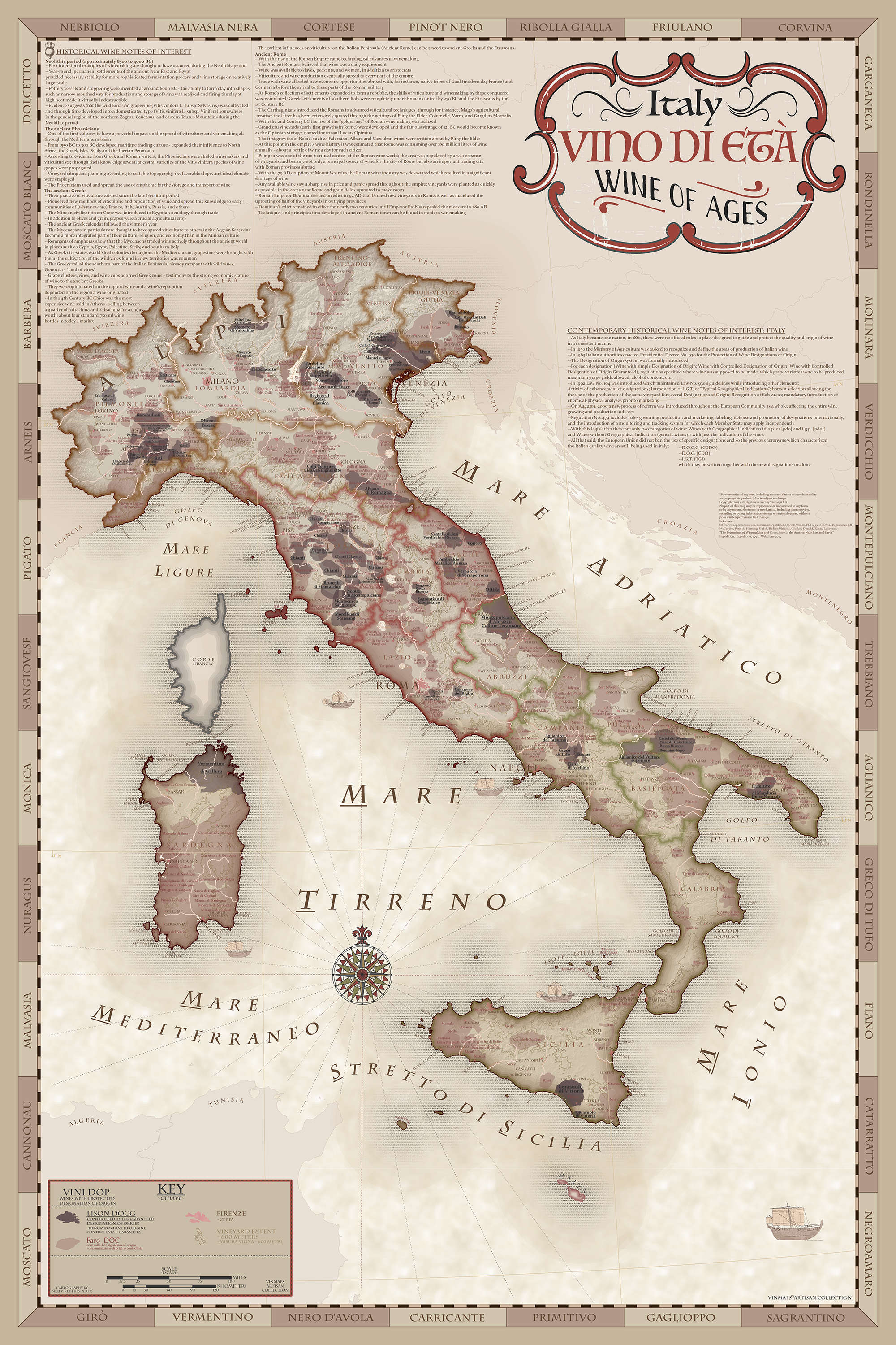 Artisan Collection Archives - VinMaps® on ancient maps of italy, cumae italy, online map venice italy, old map of florence italy, old maps prints, old style map of italy, old material, early people of italy, old naples italy, old world maps murals, old world cartography, old world style fabric, detailed map florence italy, towns in bari italy, old world rome, historical maps of italy, printable map italy, 13th century italy, old world italian, tunisia italy,