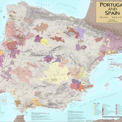 Map Of Spain Vineyards.Pages Archive Vinmaps