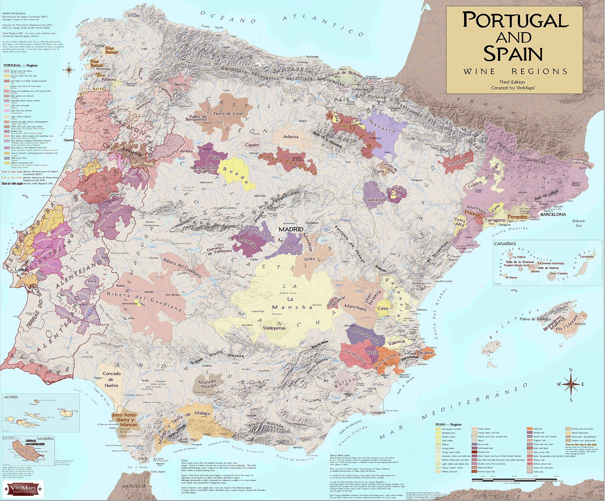 Wine Regions of Portugal & Spain