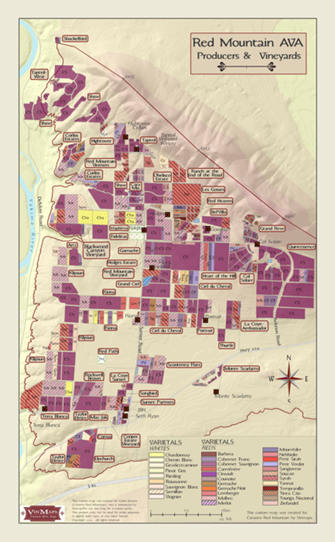 Custom Wine Map Projects Total Wine Amp More
