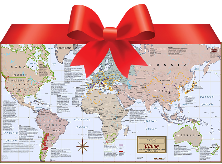 VinMaps Named one of the Best Gifts for Travelers