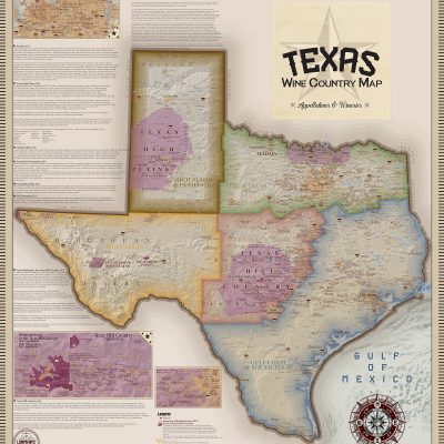 Texas Wine Country Map
