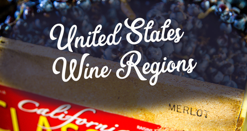 United States Wine Regions - Wine Maps for Napa and more