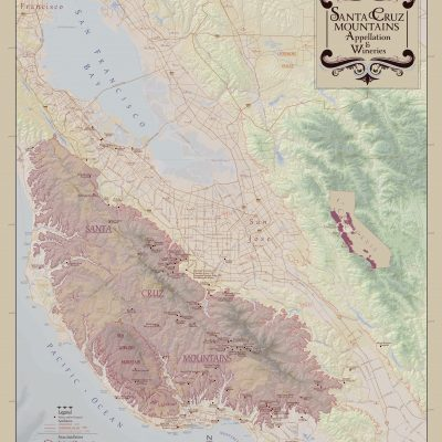 Santa Cruz Wine Map
