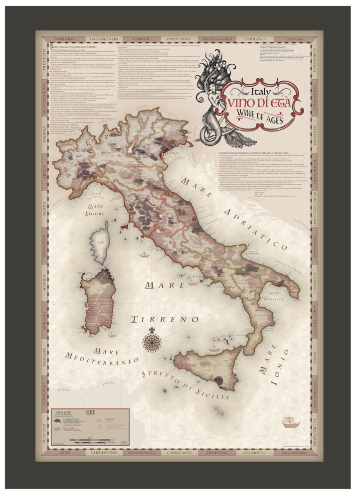 2018-framed-Vinmaps-Italy-Wine-of-Ages-mermaid