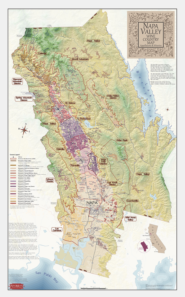 Napa-Valley-Wine-Country-Map-Paper-1st-Ed-4-2018